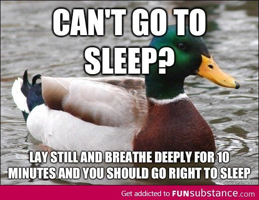 The best sleep advice I've ever received