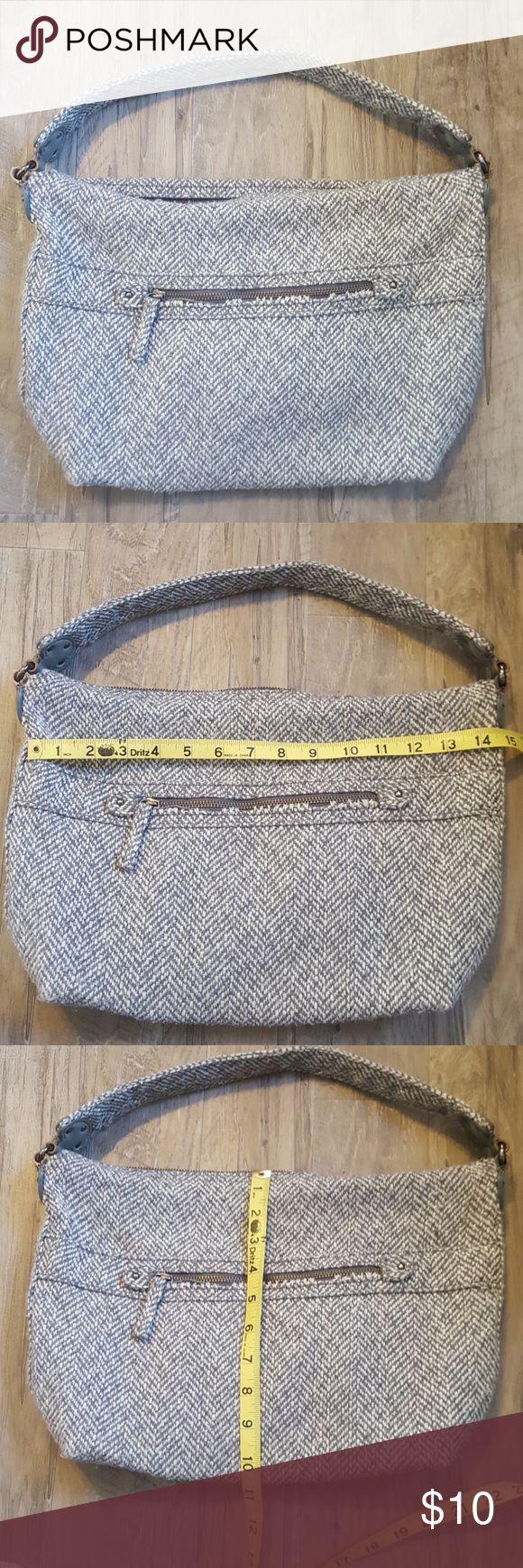 GAP purse Gray twill bag GAP Bags Shoulder Bags