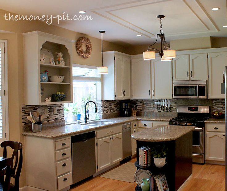 White Oak Kitchen Cabinets: 1000+ Ideas About Painted Oak Cabinets On Pinterest
