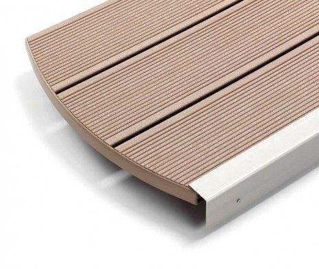 Desnumire: Profil deck WPC RELAZZO classic Ametista Dimensiune (l x h x w):4000/5000/6000 x 30 x 194 mm Culoare: Maro Colectie: Ametista  It...