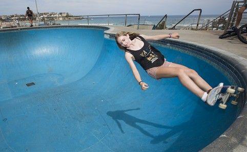 Skatepark at Bondi Beach