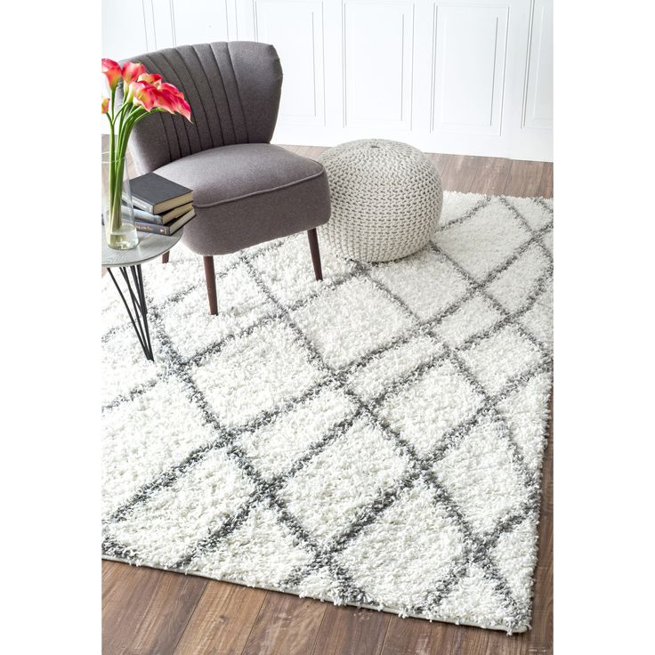 Inspired By Moroccan Berber Carpets This Trellis Rug Adds Depth To Your Decor