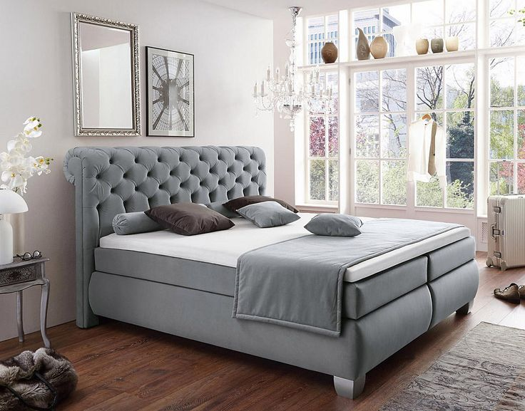 1000 ideen zu boxspringbett auf pinterest boxspringbett. Black Bedroom Furniture Sets. Home Design Ideas