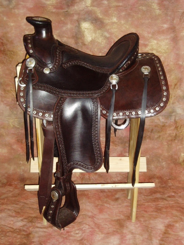 This saddle is hand made and I would love it!