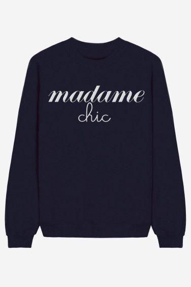 Madame Chic - brodé