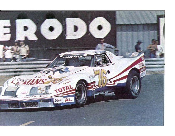 chevrolet corvette greenwood 24 heures du mans 1976 sport auto juillet 1976 24 heures. Black Bedroom Furniture Sets. Home Design Ideas