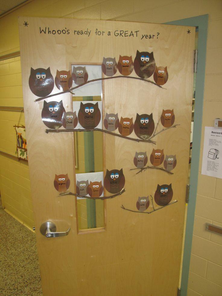 classroom door idea: Whooooo is wise enough to avoid drugs? Yoooouuuu.....