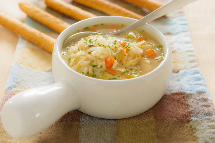 Суп с филе телапии