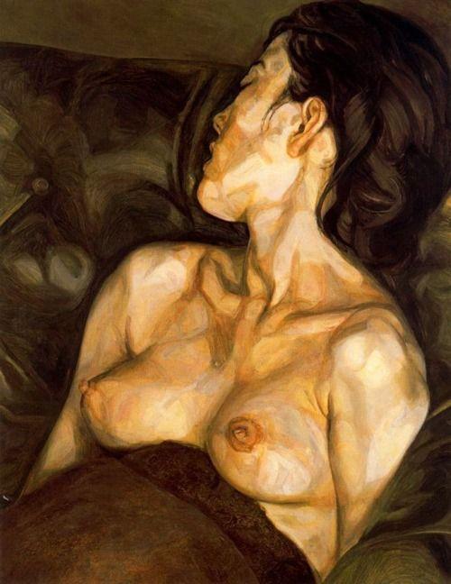Lucian Freud, Pregnant Girl, 1961