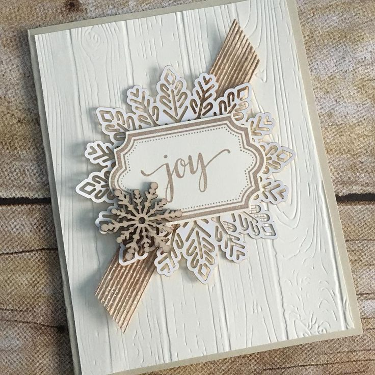 Joy, Paper pumpkin november 2017, snowflakes, hardwood TIEF, Stampin Up
