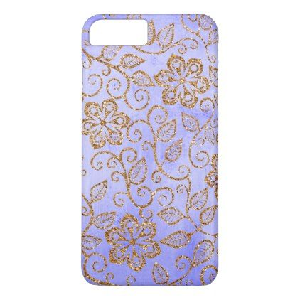 Ornate Chic Cute Girly Vintage Floral Pattern iPhone 8 Plus/7 Plus Case - classy gifts custom diy personalize