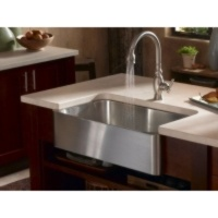11 best stylish kitchen sinks images on pinterest farmhouse i wouldnt renovate my whole kitchen just the sink kohler verity apron front kitchen sink stainless steel would work better than the split bowl number i workwithnaturefo