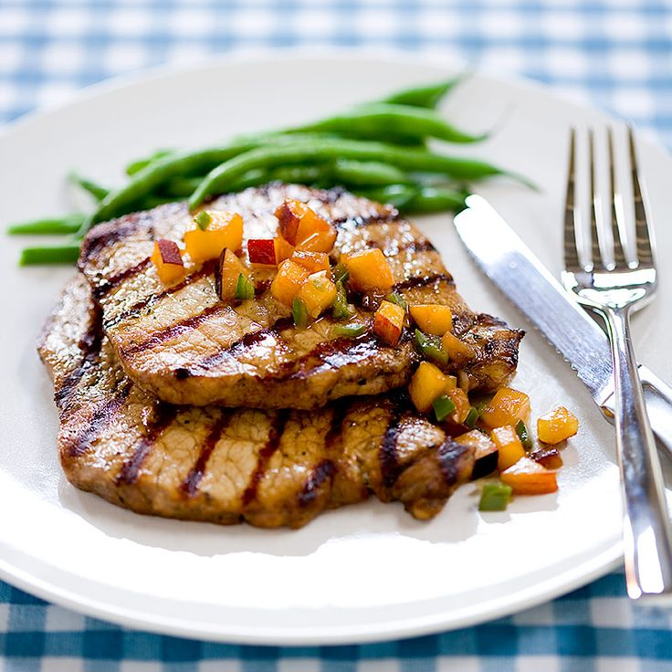 Grilled Pork Cutlets with Rosemary and Red Wine Vinegar Recipe - Cooks ...