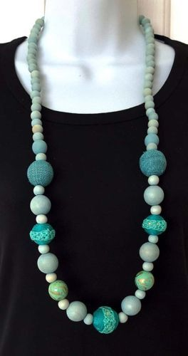 Long-Coastal-Sea-Blue-Wooden-Bead-Necklace