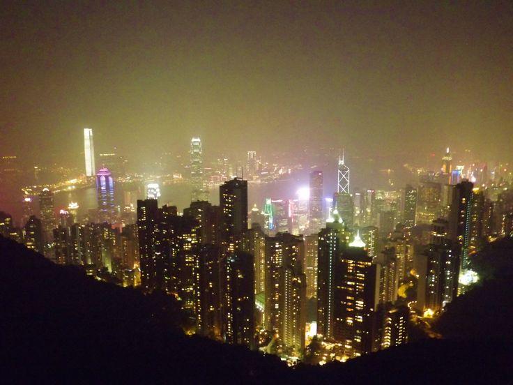 Hong Kong at Night!  Image: Sadhvi Rampersad