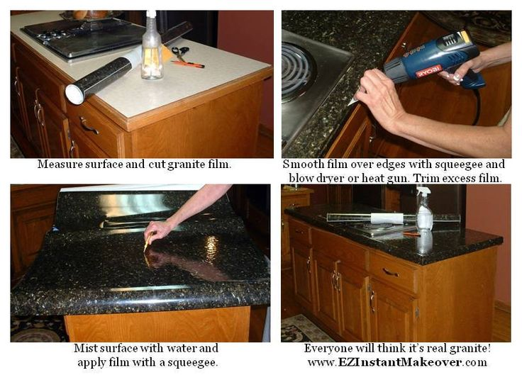 granite contact paper for cabinet tops..