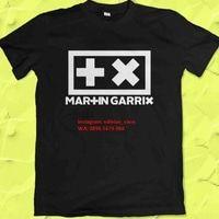Kaos Distro Dj Martin Garrix Original EDM Merchand