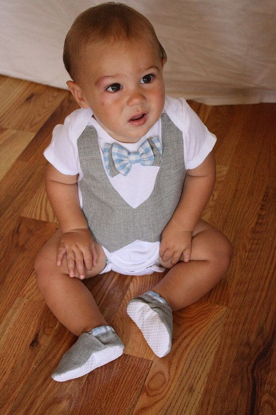 Baby boy shirt bow tie shirt Baby boy photo prop by haddygrace,see link for more info and pricing.