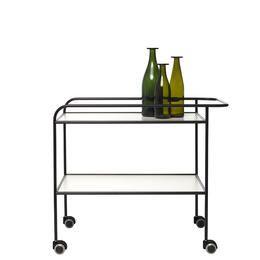 STEEL PIPE DRINK TROLLEY | Cappellini