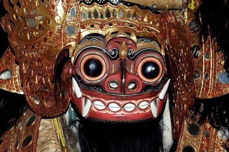 Barong, traditional mask, BALI