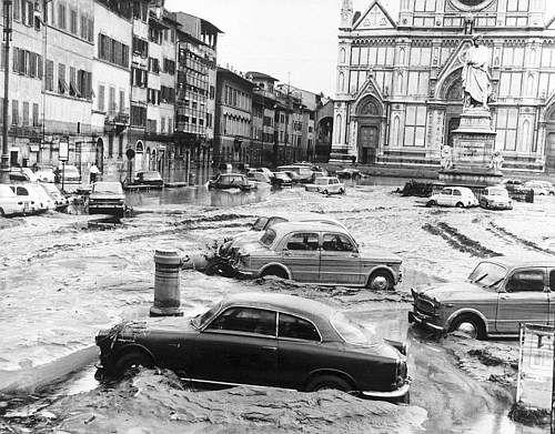 1966 disaster (piazza santa croce)
