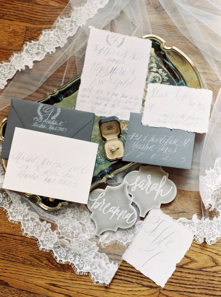 424 best Wedding Invitations images on Pinterest Ballerina