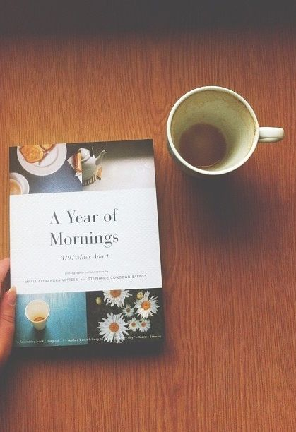 a year of mornings.