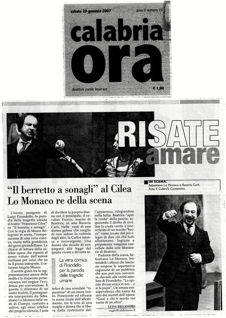 20 gennaio 2007 - Calabria Ora