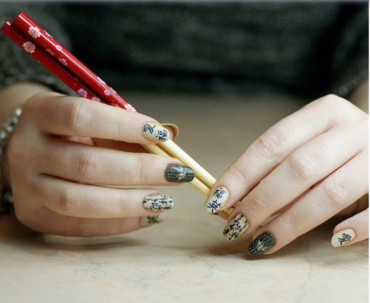 116 best Nail Art - Asian Inspired images on Pinterest | Asian ...