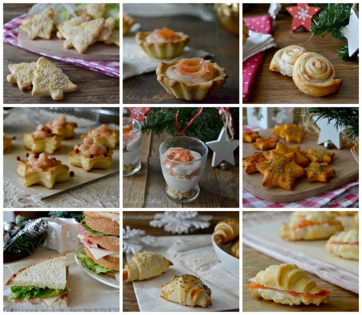 Antipasti di Natale, vari antipasti per il cenone e il pranzo di Natale, dal più semplice al più elaborato, tante idee da preparare in anticipo.