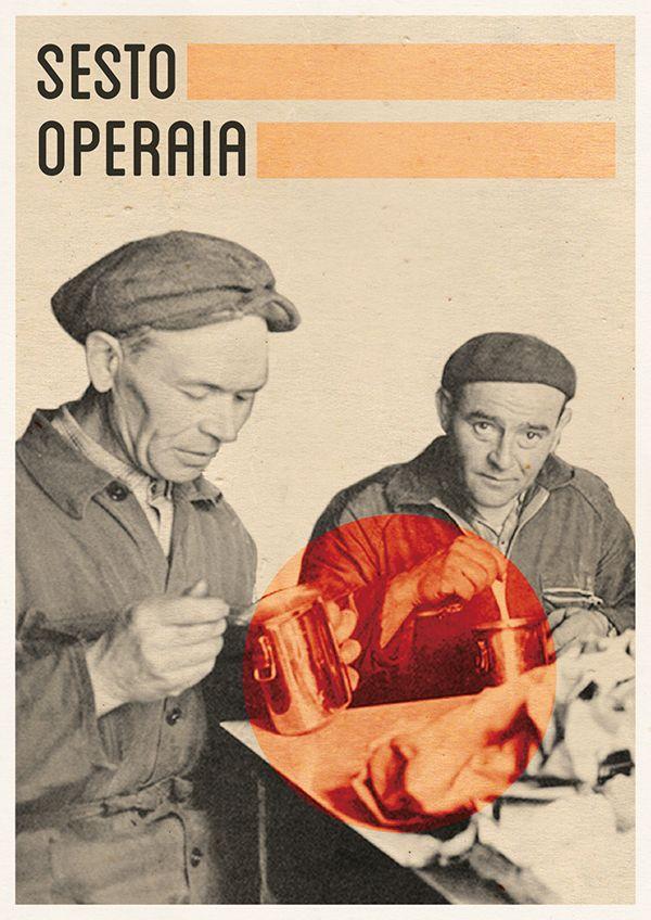 Sesto Operaia: Blumo, Vergella e Bramma by Marianna Milione, via Behance