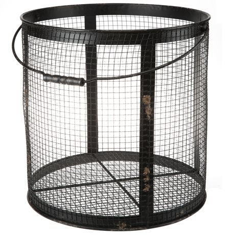Wired Metal Basket Large For Real Living #reallivingxfreedom