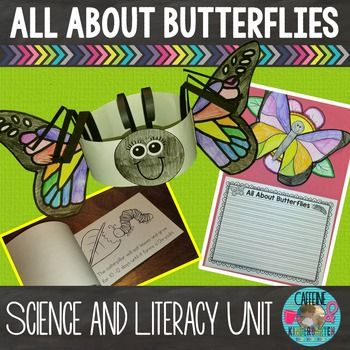Butterflies - All About Butterflies - Butterflies Literacy and Science Your class will be ALL A-FLUTTER to learn about butterflies with this integrated science and literacy butterflies unit.