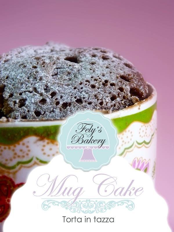 torta in tazza nel microonde- mug cake