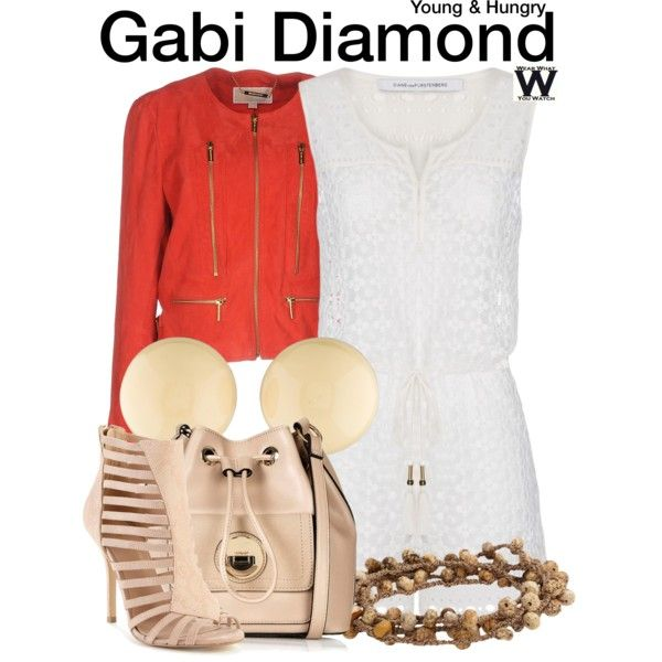 Inspired by Emily Osment as Gabi Diamond on Young & Hungry