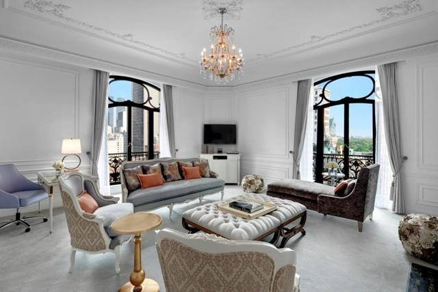 Dior Suite, St. Regis Hotel, New York, S.U.A.