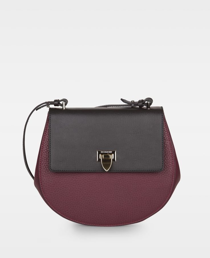 DECADENT Aggie medium satchel bag, wine