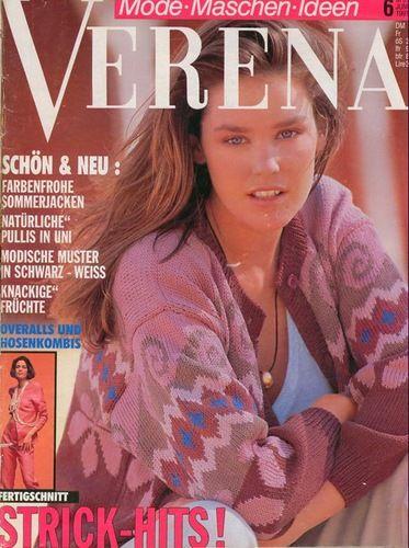 Verena №6 1991. Обсуждение на LiveInternet - Российский Сервис Онлайн-Дневников