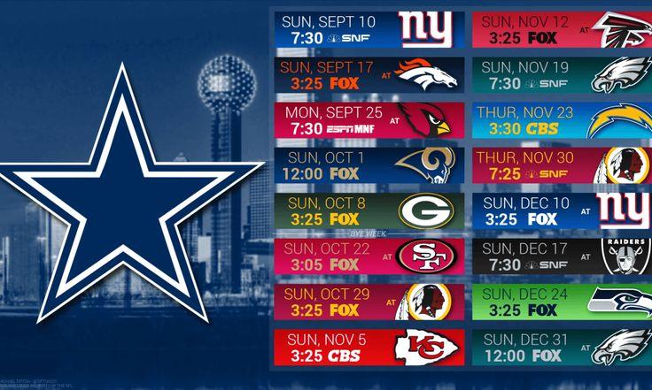 Dallas Cowboys 2017 Schedule: Game Predictions For Entire Season