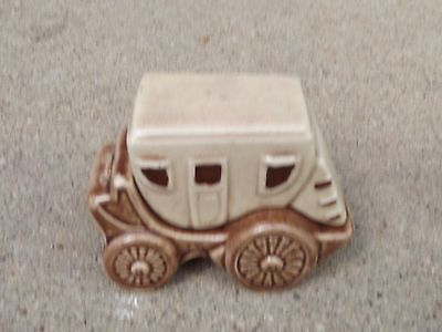 Vintage 2 PC Stagecoach Salt & Pepper Shakers