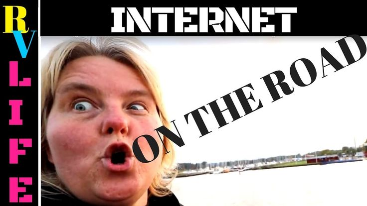 How to get internet  on the road as a NOMAD in an RV living in an RV ful...