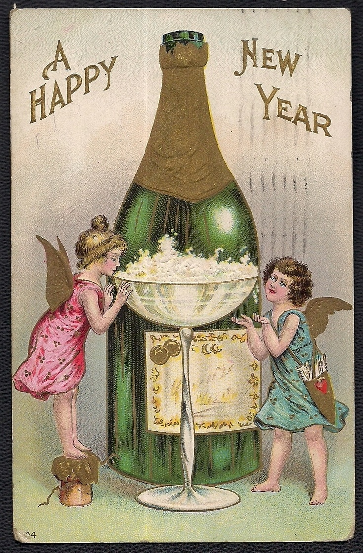 Vintage New Year's