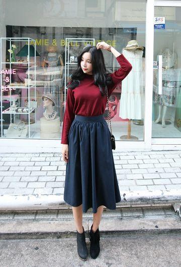 25 Best Ideas About Long Skirt Fashion On Pinterest