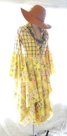 Stevie Nicks style coat, Bohemian lace duster, Romantic winter white coat dress, Boho dresses, Shabby jacket, True rebel clothing   This is the