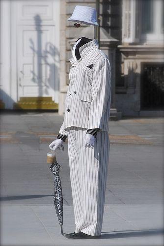 Madrid street performer. (Photo by TKADD HERE)