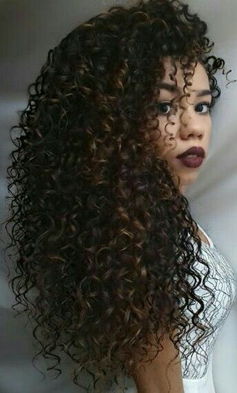 What beautiful hair!