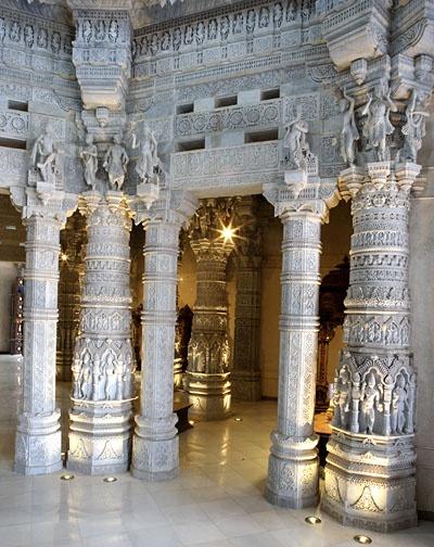 Swaminarayan Akshardham in New Delhi, India. Inaugurated on 6 November, 2005. http://www.akshardham.com