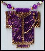 Doux Kimono Collier en 2 dimensions (French Version) by Toika Bridges