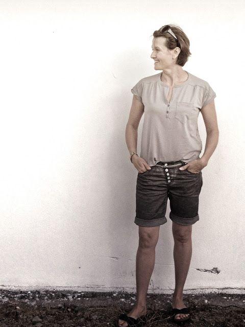 95 best Sewing tops images on Pinterest   Blusen, Kleidung nähen und ...