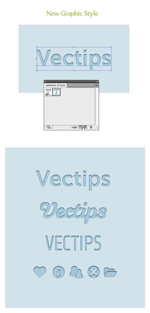Illustrator :: Creating Editable Letterpress Styled Text